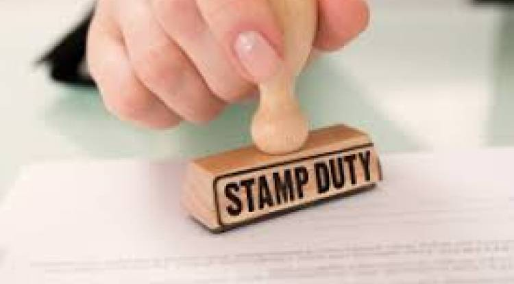 STAMP DUTY ON SHARE CERTIFICATES