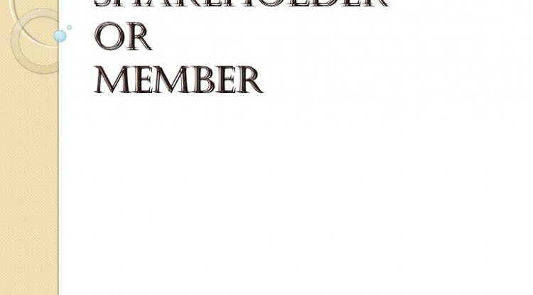 Can I become shareholder or Member in the Company?