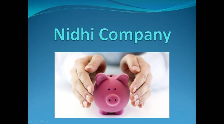 Is Nidhi Company require any Reserve bank (RBI) license to register?