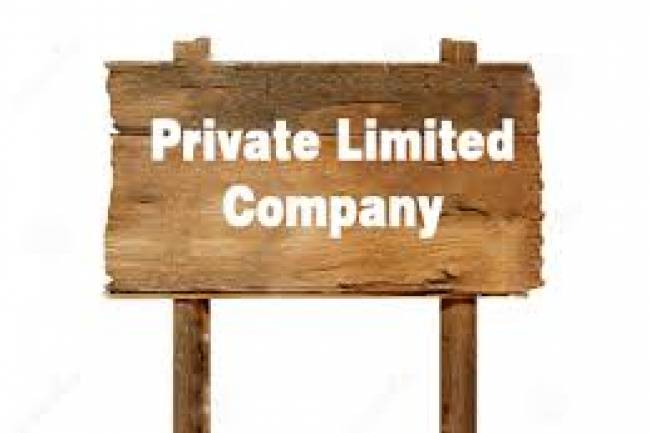 What is Equity and how is equity divided in Private Limited Company?
