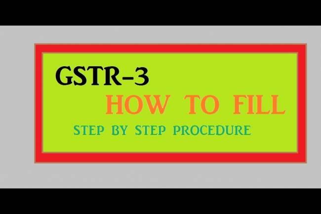 GSTR-3 Explained