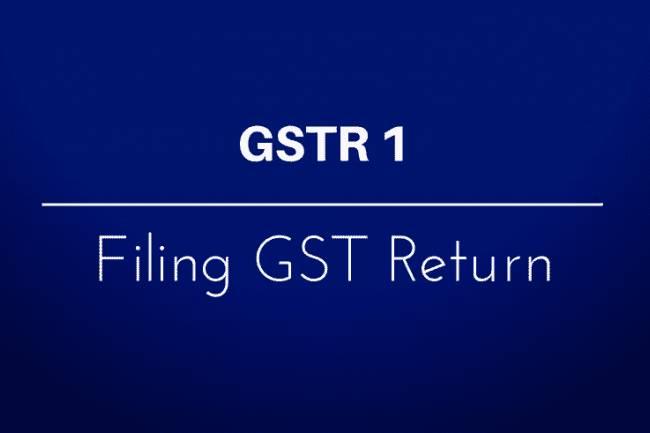 GSTR 1 Explained