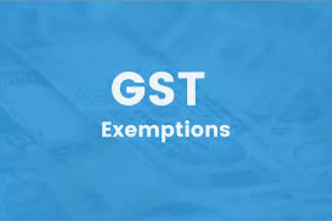 GST Exemptions List – Latest Details