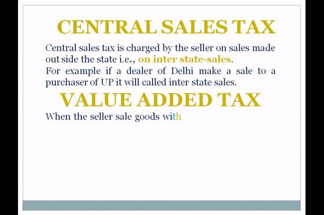 What Is The Difference Between VAT & CST?