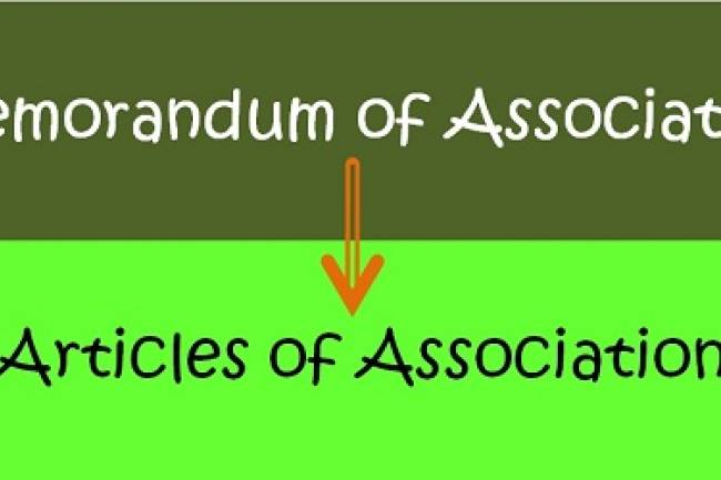 What Are Memorandum Of Association & Articles Of Association?