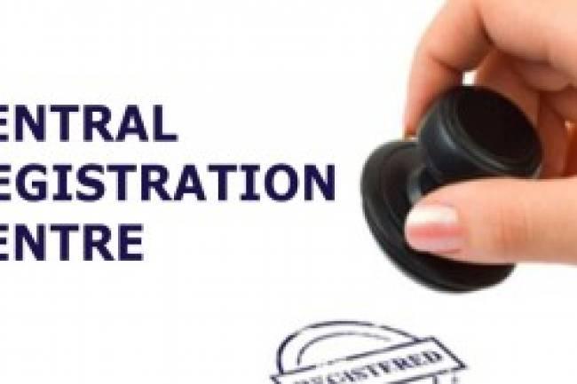 CENTRAL REGISTRATION CENTRE
