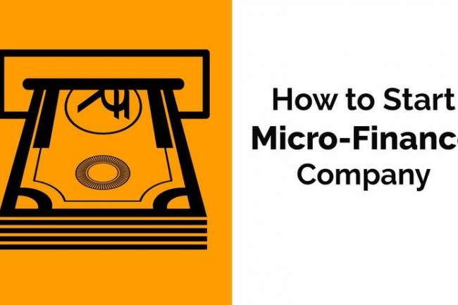 How can I start a microfinance firm in India?