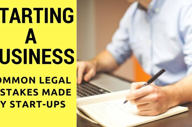 Startups to Avoid Legal Trouble