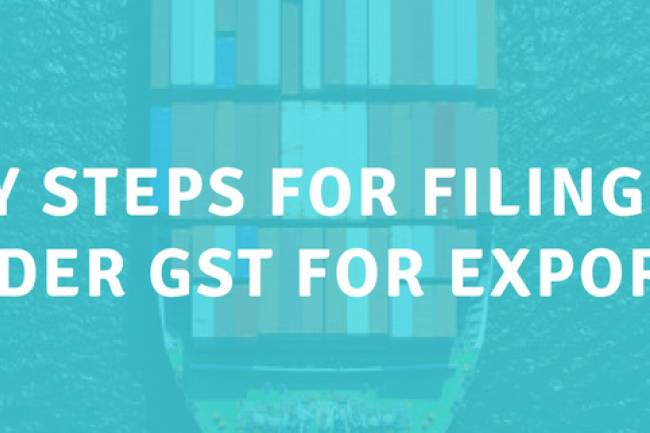 Documents required for filing of Letter of Undertaking (LUT) for Exports under GST