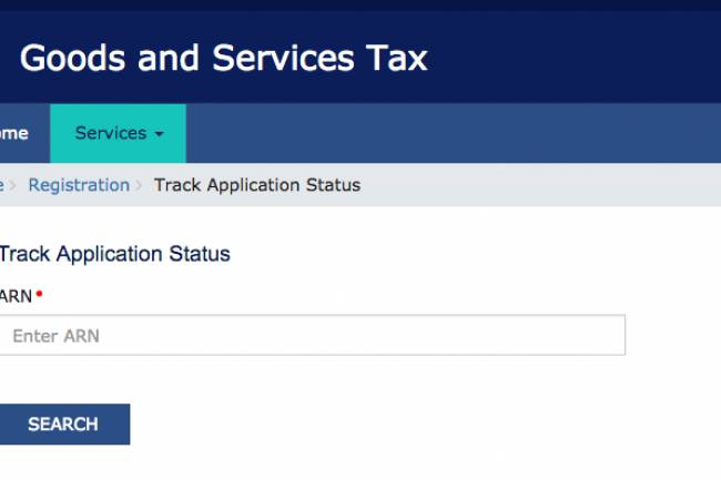 How to check GST registration status Online! – Track GST application (ARN) status online in India