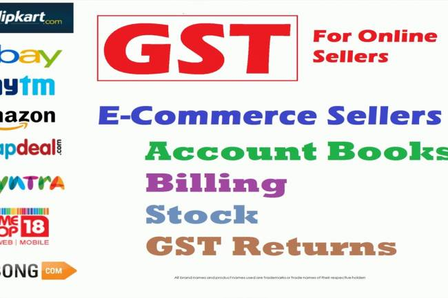 How to Sell online on Amazon, Flipkart or PayTM under GST