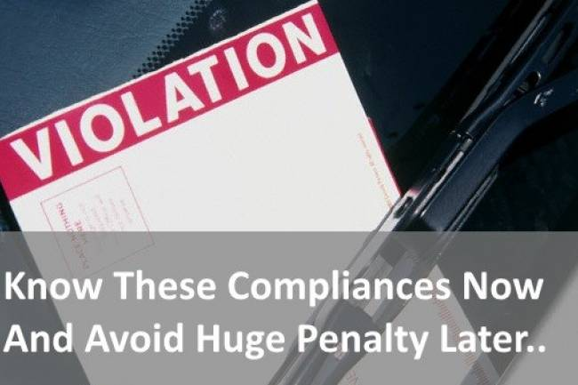 Compliance for a Private Limited Company