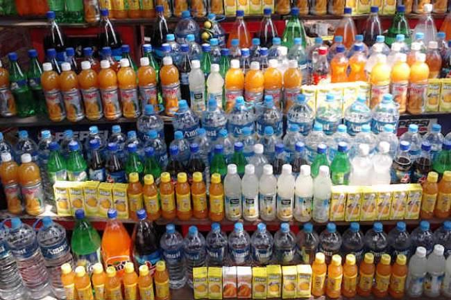 GST Tax Rates for Beverages, spirit and vinegar – Coke, Pepsi, Bisleri etc