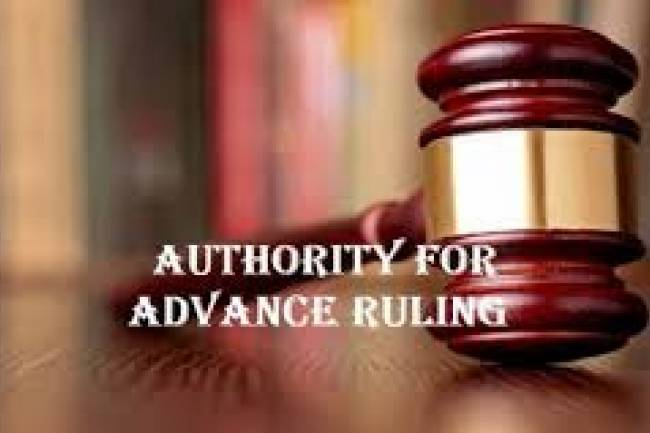 Concept of Authority of Advance Ruling (AAR) under GST
