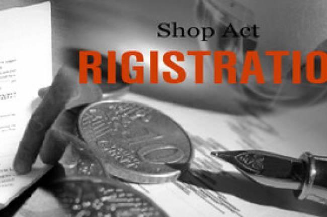 Registration under Shop and establishment - All about Shop and Establishment Act