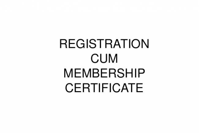 What is Registration Cum Membership Certificate (RCMC)? And How to apply for RCMC certificate?