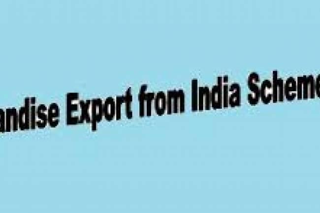 List of Notified Goods under Merchandise Exports from India Scheme