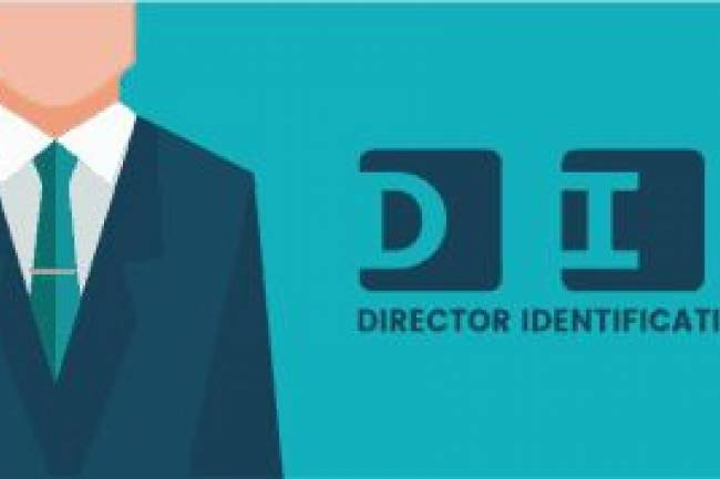 Amending the details of the Directors Identification Number