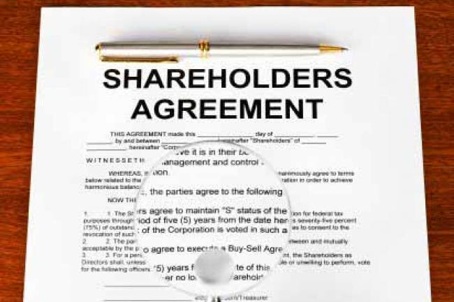 Shareholder's Agreement and its Significance