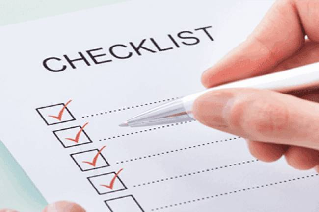 Compliance Checklist for Investors
