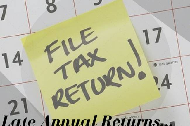Penalty for Late Filing of Annual Return of Company