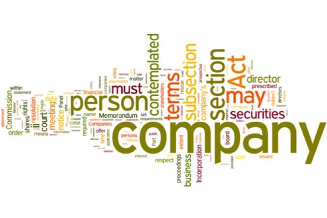 Company Incorporation Amendment Rules 2017