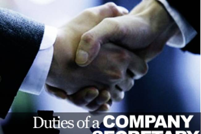 Roles and responsibilities of a Company Secretary