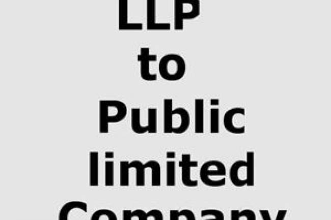 What is the difference between a private company, an L.L.P and a public LTD?