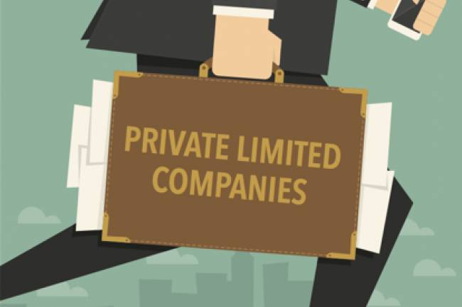 WHO SHOULD THE COMPANY NOTIFY IN CASE OF SUBMITTING AN APPLICATION OF CLOSING THE PRIVATE LIMITED COMPANY?