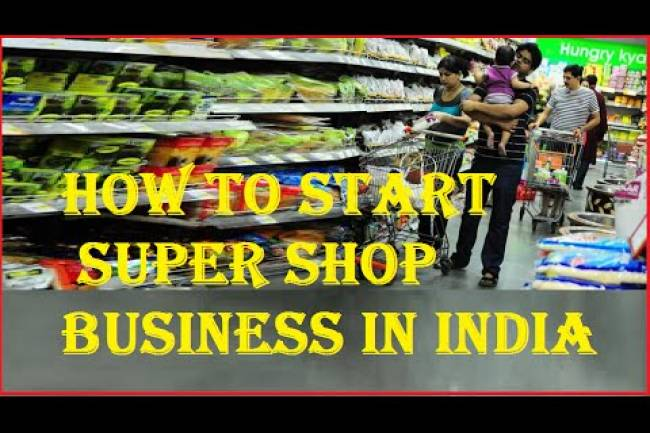 What are things to do before opening a shop in India?