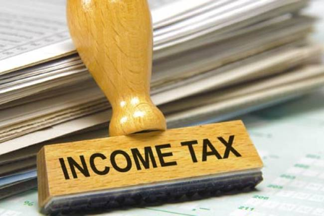 What is the income tax on a salary of Rs.14.5 lakhs per annum?