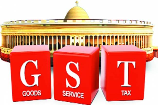 Do we have to pay the GST tax of CST and SGST in one or two cheques?