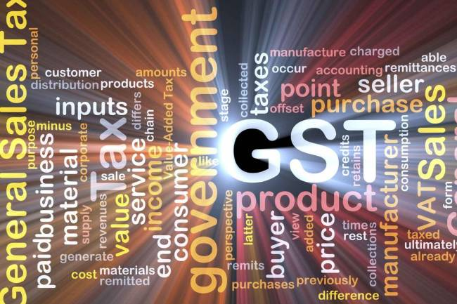 What will the GST​ rate be for gold?