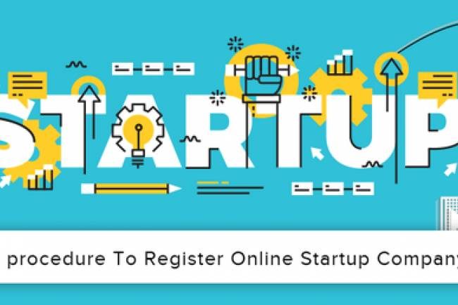What is the procedure to register a startup company in India and how much will it cost?