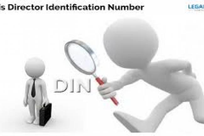 Director Identification Number (DIN)
