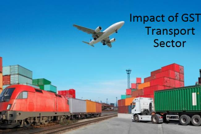 How does GST impact on transportation industry?