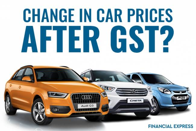 How much do car prices decrease after GST?