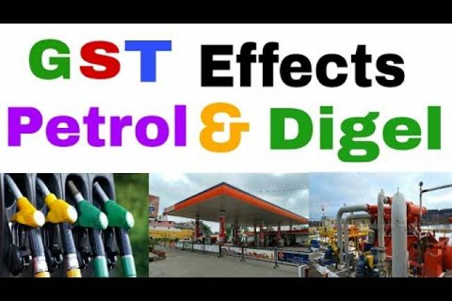 What will be impact of the GST on petrol and diesel prices?